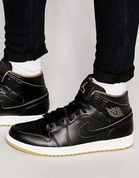 Кроссовки средней высоты Nike Air Jordan 554724-042 - Черный