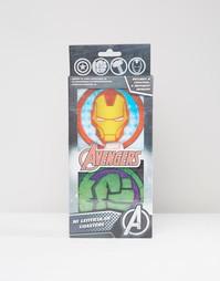 Подставки под напитки с эффектом 3D Marvel - Мульти Gifts