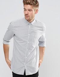 Рубашка с длинными рукавами Esprit - Синий