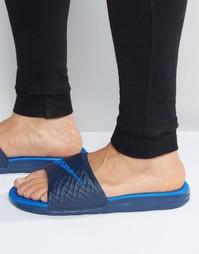 Шлепанцы Nike Benassi Solarsoft 705474-440 - Синий