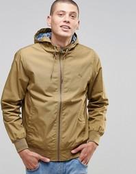 Куртка цвета хаки на подкладке с принтом Element Dulcey - Хаки