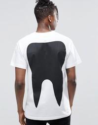Футболка с зубом Long Clothing - Белый