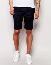 Строгие шорты-карго Minimum - Navy blazer