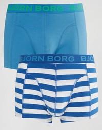 Набор из 2 боксеров-брифов Bjorn Borg - Синий