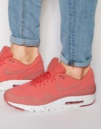 Кроссовки Nike Air Max 1 Ultra Moire 705297-611 - Красный