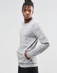 Джемпер с круглым вырезом ADPT Dante - Серый