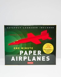 Набор бумажных самолетиков One Minute Paper Airplanes - Мульти Books