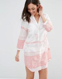 Пляжное платье-рубашка Pia Rossini Desota