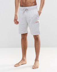 Серые шорты для дома классического кроя Hugo Boss - Серый