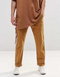 Прямые брюки-карго песочного цвета ASOS - Песок