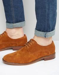 Замшевые туфли дерби Ted Baker Joehal - Рыжий