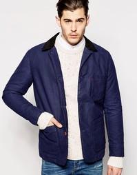 Куртка из хлопка с покрытием Levi's - Синий ночной страж Levi's®