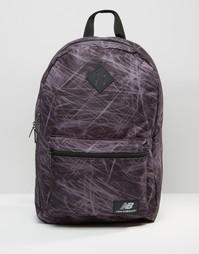 Черный рюкзак New Balancew JLS16 - Черный