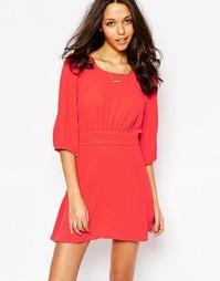 Красное платье свободного кроя BA&SH Stella - Красный Ba&;Sh
