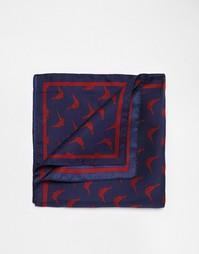 Платок для пиджака Jack Wills Plumptree - Темно-синий