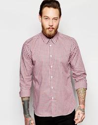 Приталенная рубашка в шотландскую клетку PS Paul Smith - Красный