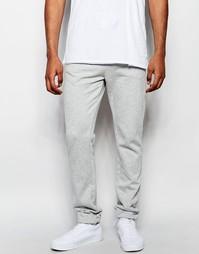 Зауженные трикотажные брюки Hilfiger Denim - Серый вереск