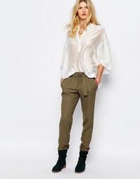 Свободные брюки цвета хаки Sessun - Зеленый