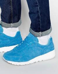 Синие кроссовки Saucony Shadow 6000 S70222-4 - Синий
