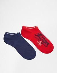 2 пары спортивных носков с логотипом Tommy Hilfiger - Мульти