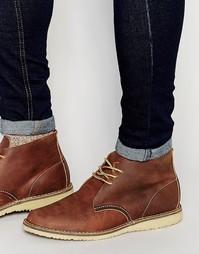 Ботинки чукки Red Wing Weekender - Коричневый