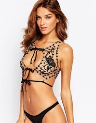 Бюстье Skivvies For Love & Lemons Karina