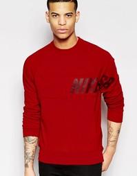 Красный свитшот Nike SB Everett 728067-687 - Красный