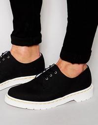 Ботинки с 3 люверсами Dr Martens - Черный