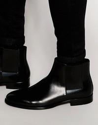 Кожаные ботинки челси ALDO Markin - Черный
