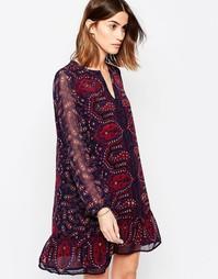 Цельнокройное платье с принтом пейсли Maison Scotch - Mu1