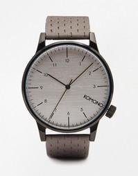 Серые часы Komono Winston - Серый