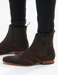 Замшевые ботинки челси Jeffery West - Коричневый