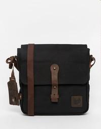 Парусиновая сумка через плечо Lyle & Scott - Черный