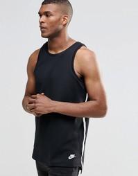 Черная майка Nike TF 727353-010 - Черный