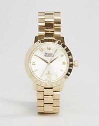 Золотистые часы Vivienne Westwood Bloomsbury VV152GDGD - Золотой