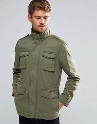 Куртка в стиле casual Esprit - Оливковый