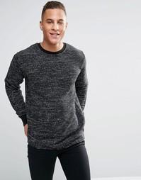 Мягкий свитер с ворсистой изнанкой Kubban - Серый