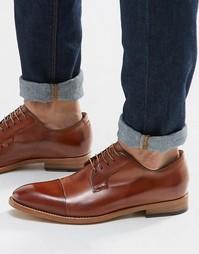 Туфли дерби с отделкой на носке Paul Smith Ernest - Рыжий