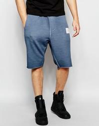 Трикотажные шорты маслянистого цвета Religion - Blue shadow