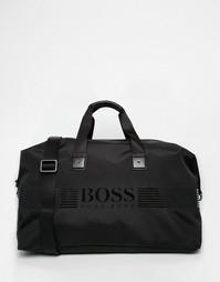 Сумка с логотипом Hugo Boss Pxiel - Черный