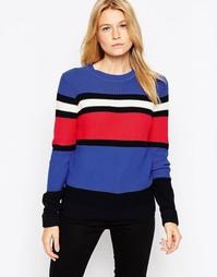 Джемпер в разноцветную полоску Glamorous - Черно-синий