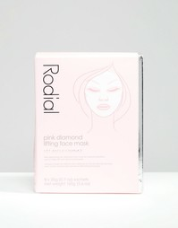 Маска для подтягивания кожи лица Rodial Pink Diamond 8 шт.