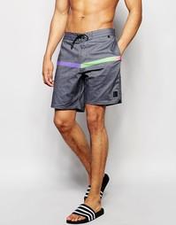 Пляжные шорты 18 дюймов Billabong Adrenaline Lo Tides - Черный