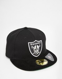 Кепка New Era 59 Fifty LA Raiders - Черный