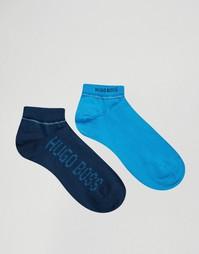 2 пары синих спортивных носков Hugo Boss - Синий
