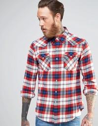 Красная фланелевая рубашка в стиле вестерн в клетку Levi's Barstow Levi's®