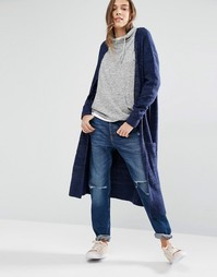 Удлиненный кардиган Hilfiger Denim - Navy blazer