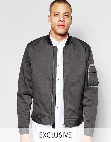 Куртка-пилот Black Eye Rags - Черный