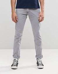 Зауженные брюки Wrangler - Серый