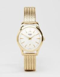 Золотистые часы Henry London Westmister HL30-UM-0004 - Золотой